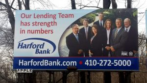 Harford Bank Billboard