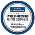 MidAtlantic Photographic - #6 Fastest Growing Private Companies